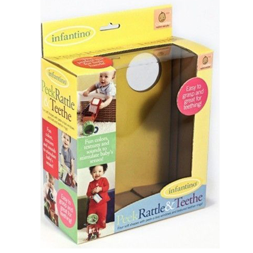 Corrugated Window Paper Box for Toy Packaging